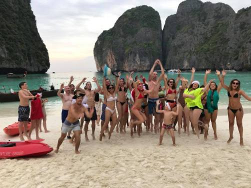 Maya Bay - Christmas Day